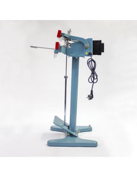 Nožní impulsní svářečka folií PFS-350x2 pohled z levé strany