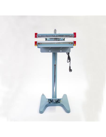 Nožní impulsní svářečka folií PFS-350x2  pohled zepředu