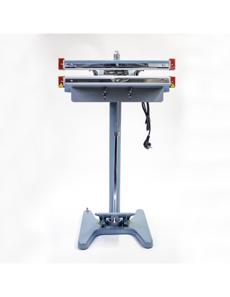Nožní impulsní svářečka folií PFS-450x2 pohled zepředu
