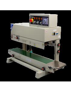 Vertikální průběžná svářečka folií s tiskem FRM-980 II-B