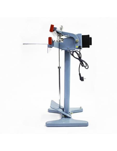 Nožní impulsní svářečka folií PFS-650x2 pohled z levé strany