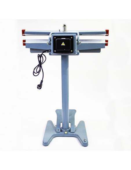 Nožní impulsní svářečka folií PFS-650x2 pohled zezadu