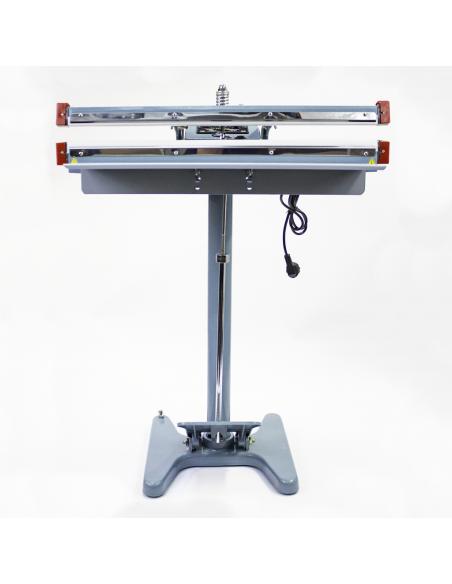 Nožní impulsní svářečka folií PFS-650x2 pohled zepředu