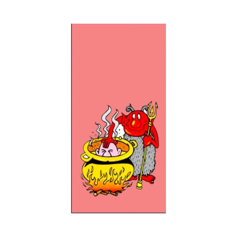 Vánoční sáček Čert 2 červený (100 ks)