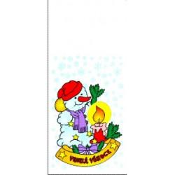 Vánoční sáček Sněhulák