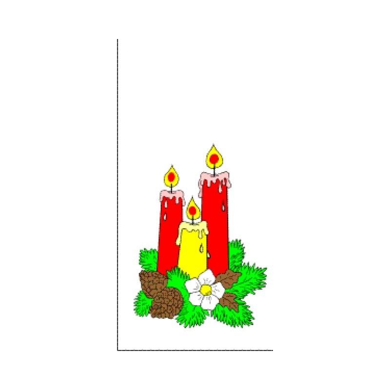 Vánoční sáček Svíčky