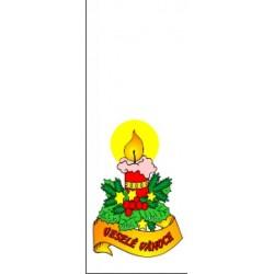 Vánoční sáček Malá svíčka