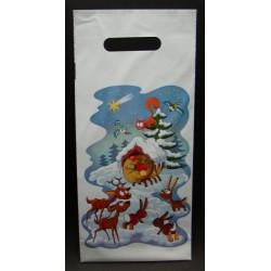 Vánoční taštička PE Zvířátka