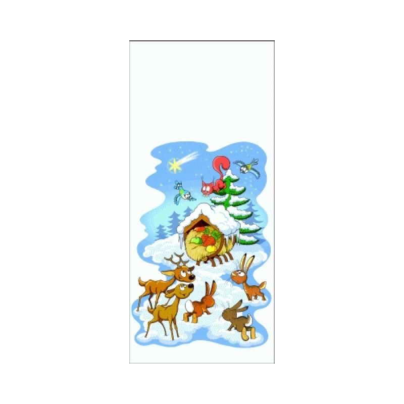 Vánoční sáček Zvířátka