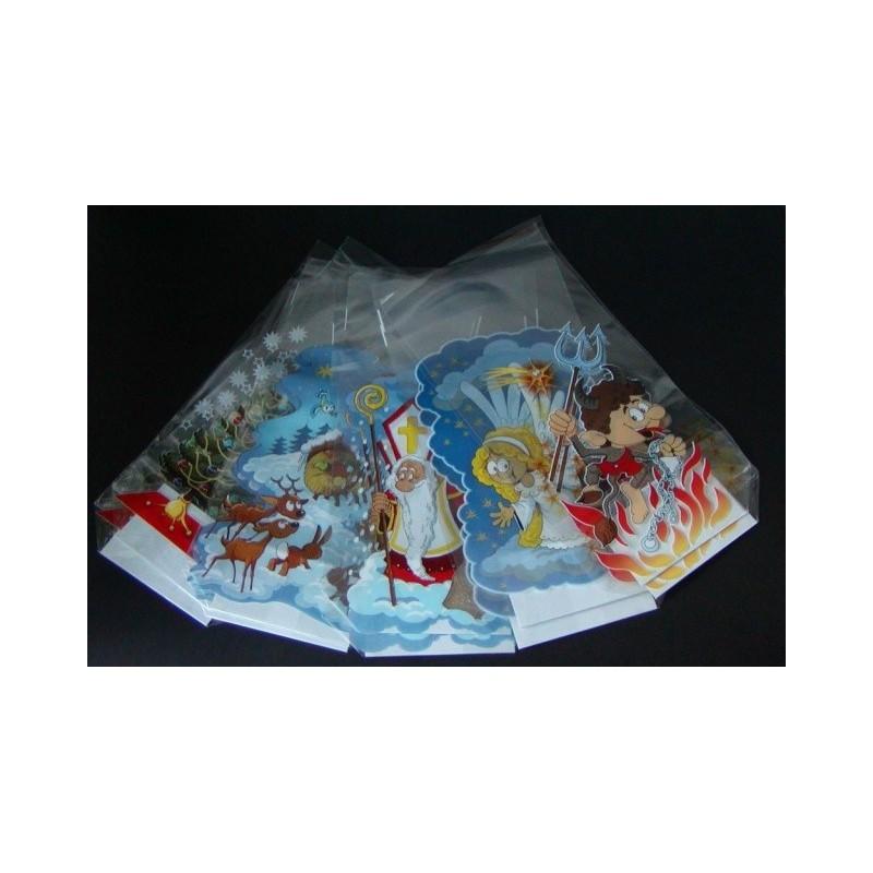 Vánoční sáček MIX 10 kusů s pevným...