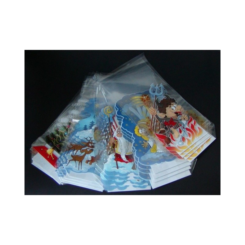 Vánoční sáček MIX 100 kusů s pevným...