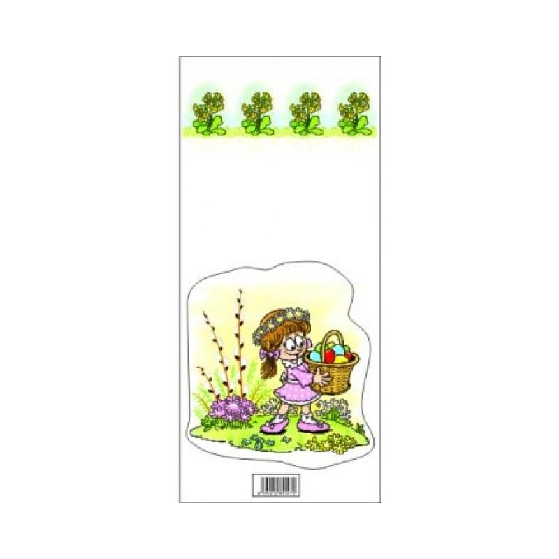 Velikonoční sáčky - Dívka