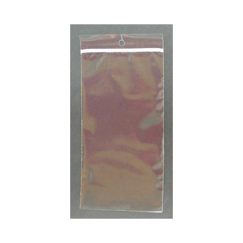 PP Reclosable Zipper Bag 140 x 250/50μm