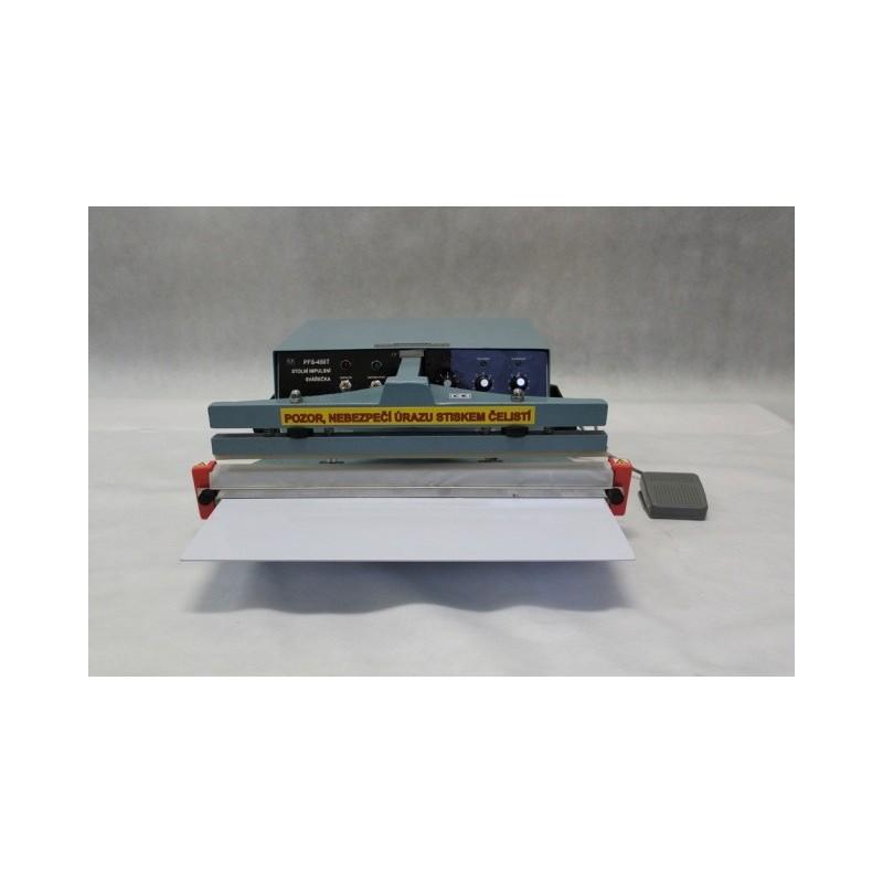 Stolní impulsní svářečka folií s elektromagnetem PFS-450T