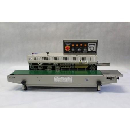 Horizontální průběžná svářečka folií s tiskem FRM-980 I-B