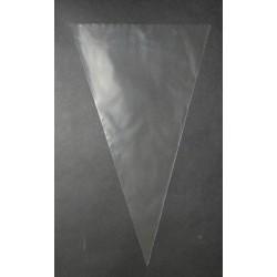 Cone bags BOPP 180x280mm, 30µm