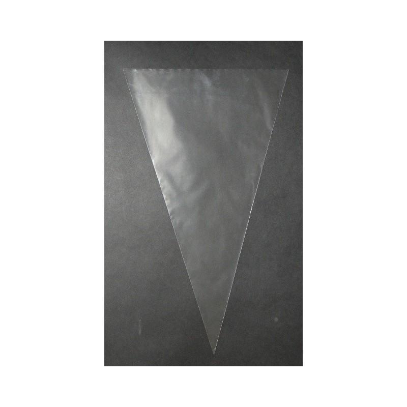 Cone bags BOPP 150x400mm, 30µm